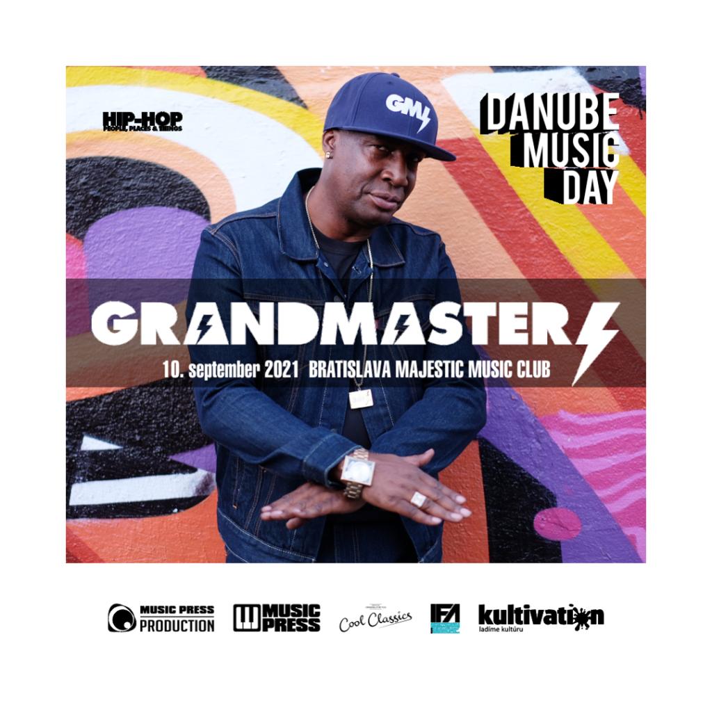 Grandmaster Flash : Danube Music Day : 10.september 2021 : Bratislava